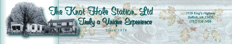 Collectibles, Figurines, and Gifts at the Knot Hole Station